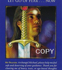 英語メッセージLet go of FEAR ❤大天使ミカエルからのスピリチュアルメッセージ