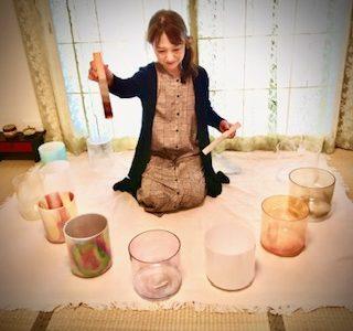 愛の光・宇宙の音~根源的なもの❤クリスタルボウル瞑想お茶会ご報告